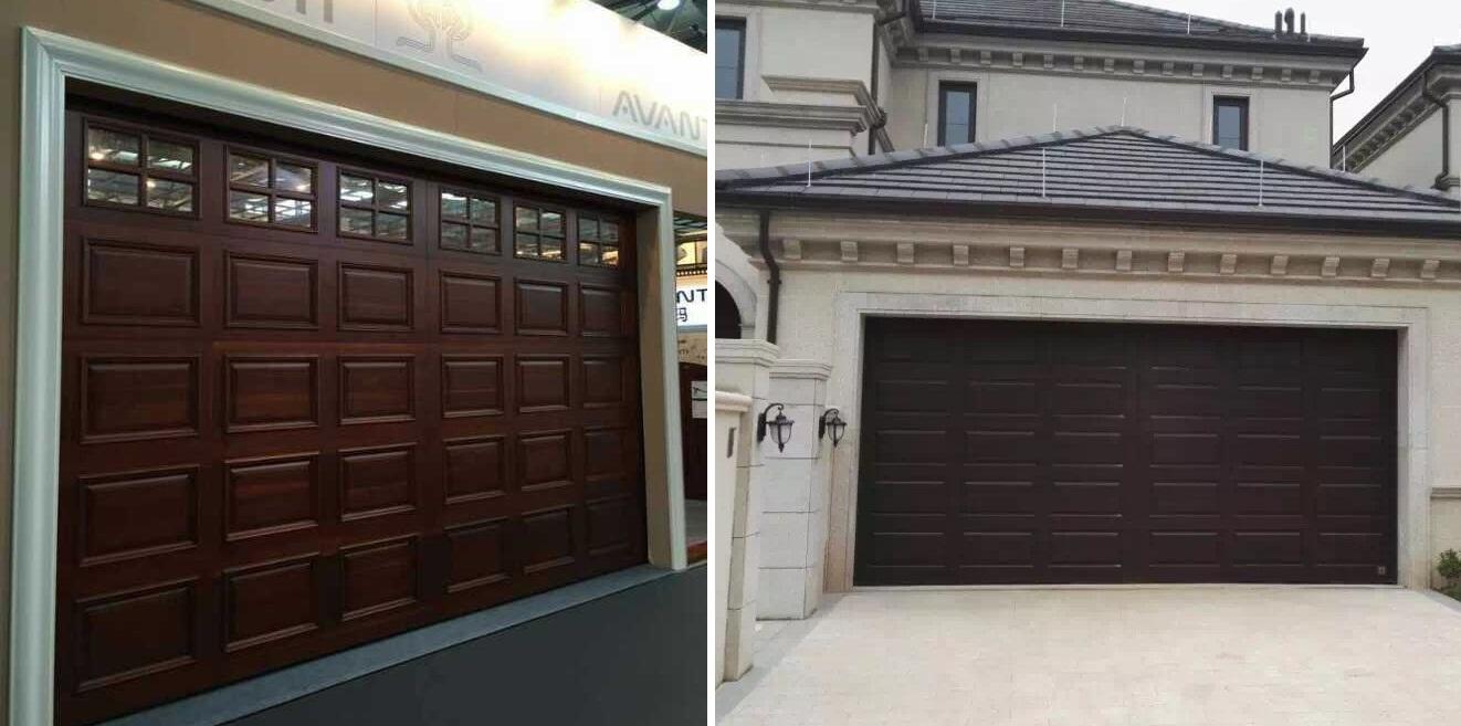 Roll Up Garage Door Heat Insulated With Pedestrian Door ...