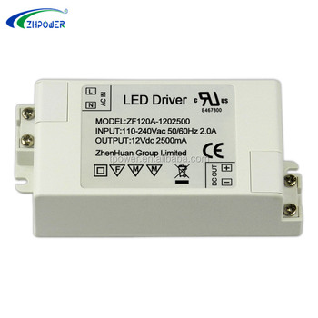 Constant Voltage Hs Code Led Lights Driver 12v 2 5a Dc Output Power Supply  Ul - Buy 12v Led Lights Driver Dc Output,Hs Code Led Driver 12v 2 5a,12v
