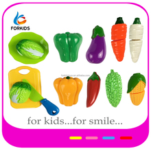 PLASTIC CUTTING VEGETABLES TOY,CONNECTING TOY FOR PRESHOOL KIDS PRETEND AND PLAY GAME,KID'S KITCHEN TOY SET