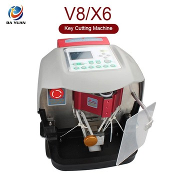 Automatic X6 key cutting machine ,key milling machine ,laser V8/X6 key copy/cutting machines LS04002