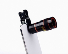 Universal 8X Optical Zoom Telescope Camera Mobile Phone Lens For Lenovo a706 z1 z2 p1 p1m z90 s90 A8 A806 glass + metal lenses