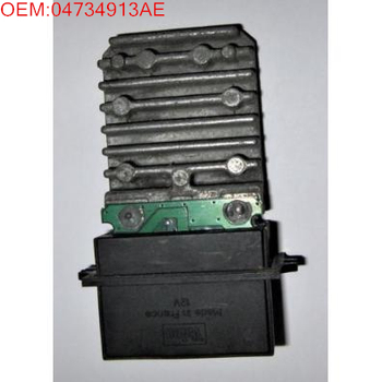 High Quality Blower Fan Motor Resistor Module Heater AC A/C Control OEM:04734913AE