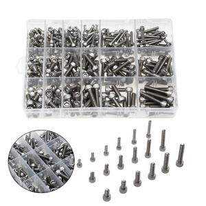 Factory direct sales of 300 stainless steel cylinder head cap screws M4M5M6 boxed high quality screws