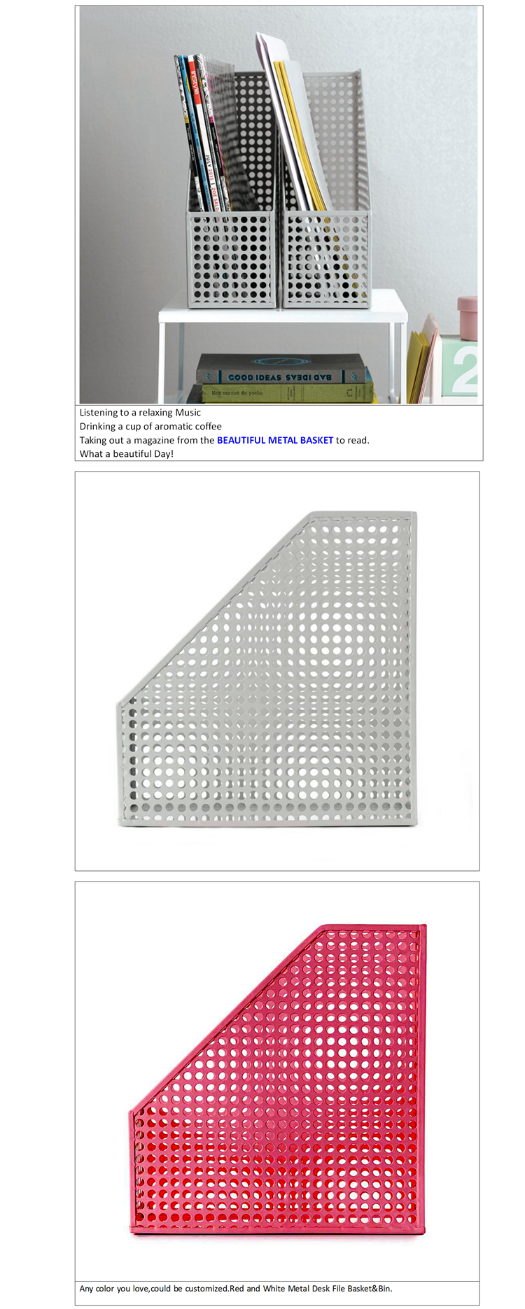 Perforated metal wire mesh container manufacturers in india Factory Direct Price
