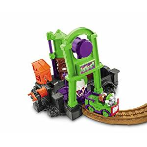 Fisher-Price GeoTrax DC Super Friends Deluxe Playset - Jokers Lair