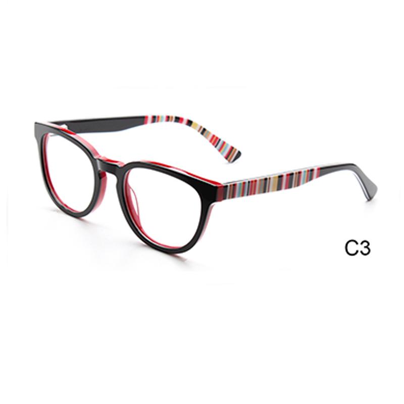 2017 heißer Verkauf Mode dame Optische Gläser Beliebten Acetat ...