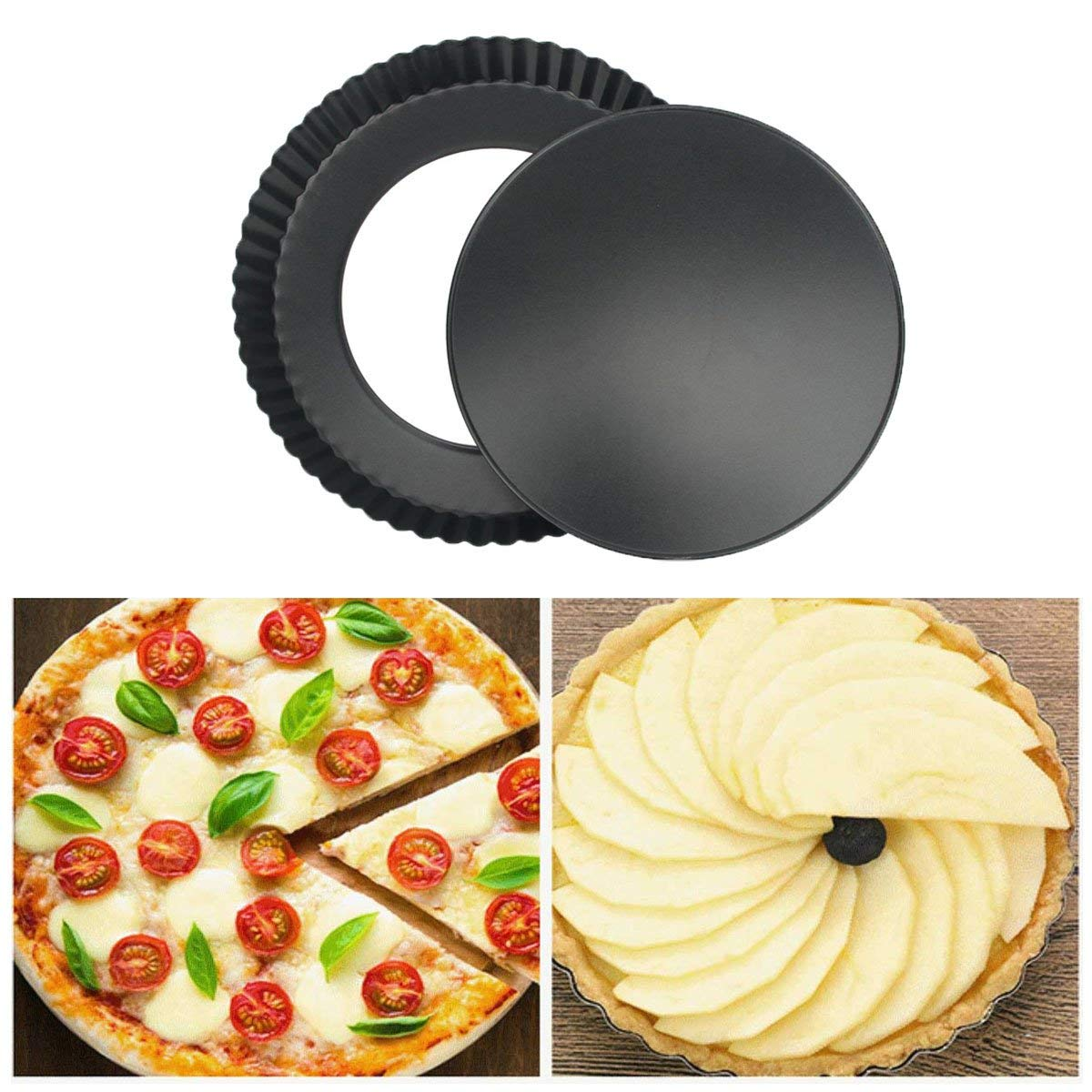 Removable bottom tart pans theme