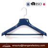 luxury plastic hangers plastic SUIT hanger with pants locking bar