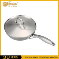 Japanese Style Stainless Steel Induction Mini Frying Pan