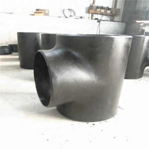 "DN450 Carbon steel Seamless BW Pipe Fitting 18"" Tee for Sale"