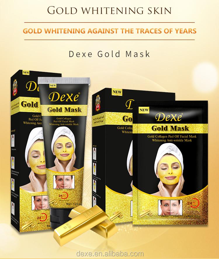 Crystal Collageen Gold Folie Poeder Gezichtsmasker/24K Gouden Gezichtsmasker/Gezichtsmasker Poeder Modeling Mask