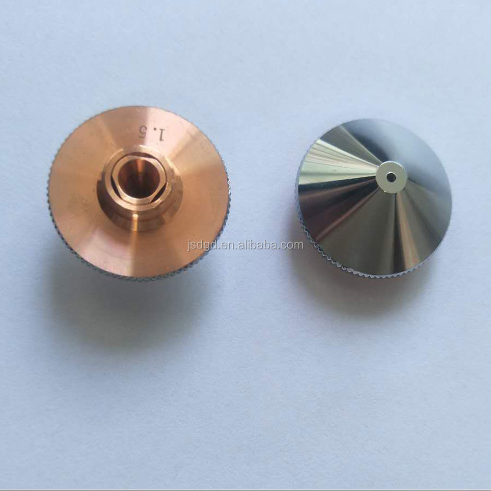 Dia 26.5mm Thick 5mm laser cutting nozzle in <strong>ceramics</strong> for laser cutting machine
