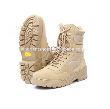 Indian High Ankle Army Safety Boots For