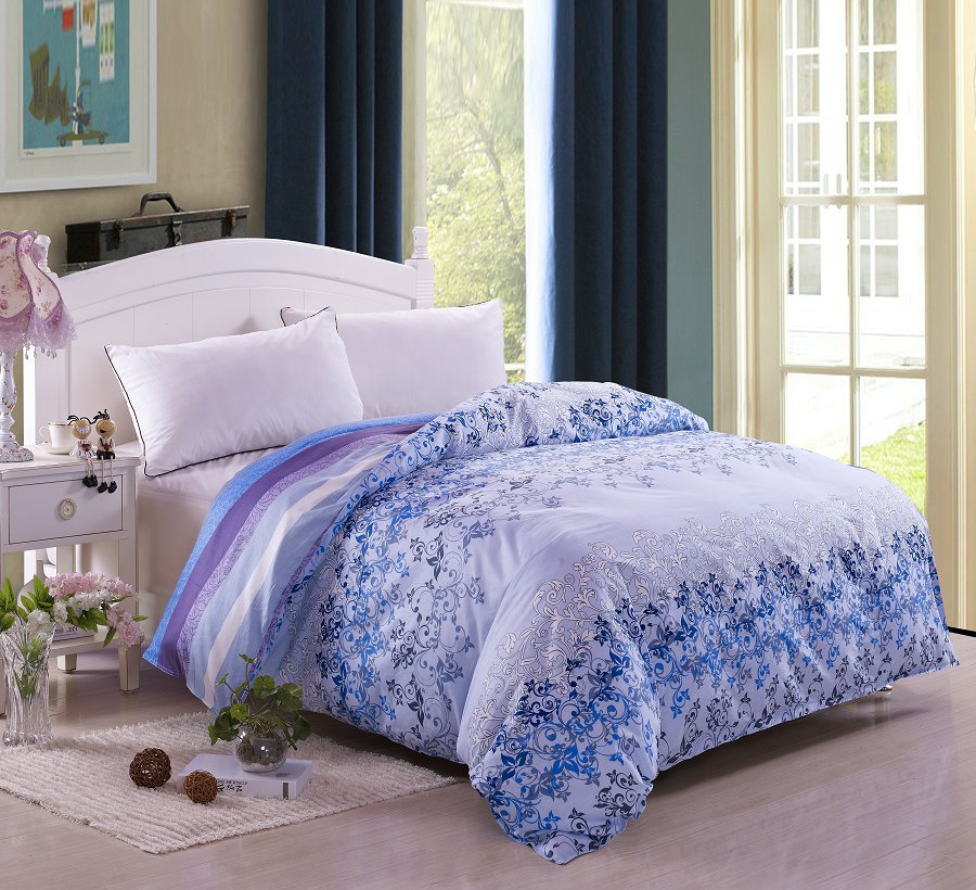 promotion luxury 3pc 4pc bedding set king size duvet cover sheet coverropa de cama housse de. Black Bedroom Furniture Sets. Home Design Ideas