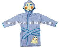 130Gsm terry cloth Childrens Bathrobe 91063