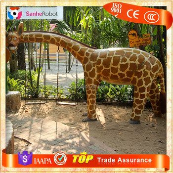 Theme Museum Wholesale Life Size Garden Stone Giraffe Statue,metal Giraffe  Sculpture For Sale