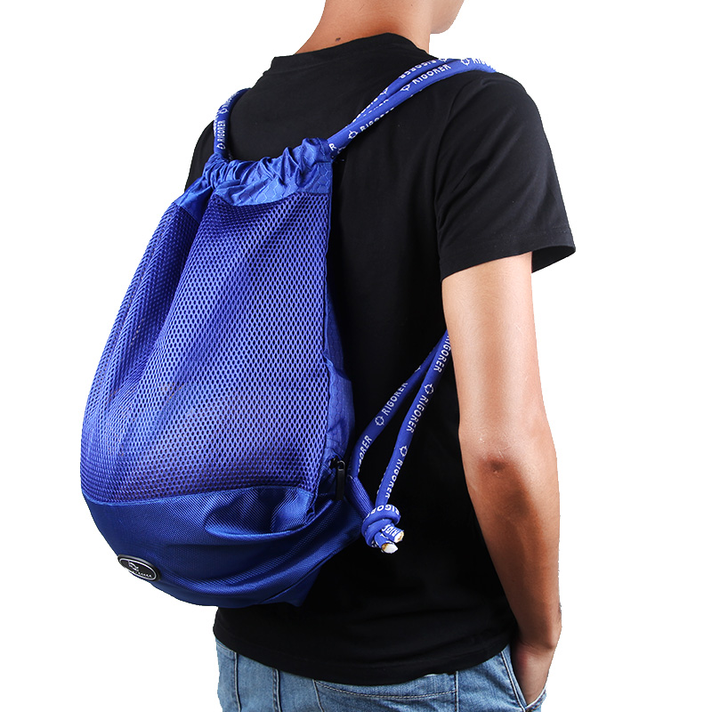 New Drawstring Sports Bag Shoes and Basketball Carrying Bag for Daily Sports, Gym, Cycling
