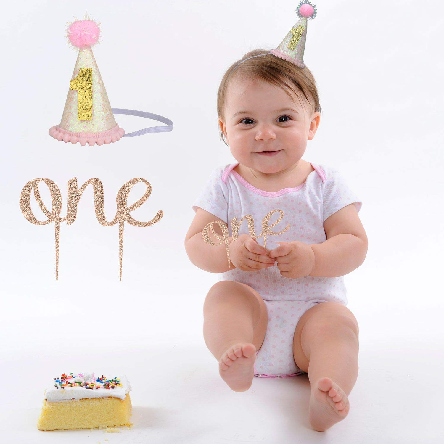 1st First Birthday Girl Party Decorations