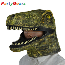Party Moving Movable Mouth Jaw Mover dinosaur Animal Latex Mask