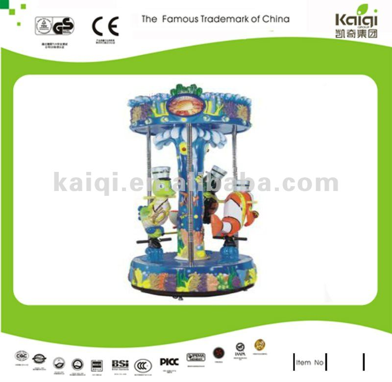 KAIQI kid's merry go round animal guard