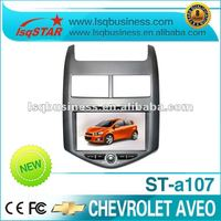 Car DVD Player with GPS for Chevrolet Aveo 2012/ Sonic with Radio, bt, ipod, 6 CDC, PIP, 3G, usb sd..