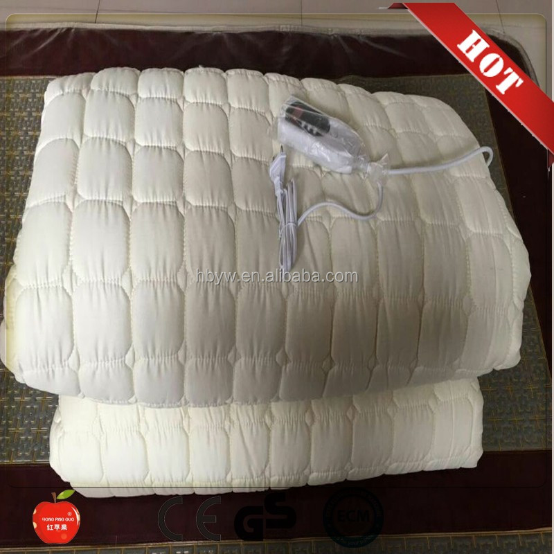 HONGPINGGUO double temperature controlled electric blanket/<strong>heat</strong> up blanket from china factory