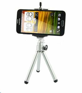 Small small Aluminum mobile phone tripod