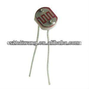 5mm LDR (light dependent resistor)----Original Manufacturer, View ...