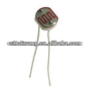 5mm LDR (light dependent resistor)----Original Manufacturer, View ...