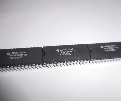 IC Chips HN58C65P-25 8192-word X 8-bit Electrically Erasable and Programmable CMOS ROM express circuitos integrados