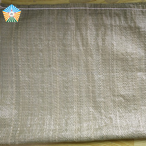 Common printing plastic pp woven bag raw material for sacking sand