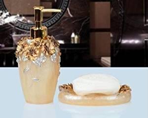 SBWYLT-Bathroom set continental pastoral ideas wash two-piece top grade resin Sanitizer bottle SOAP 1