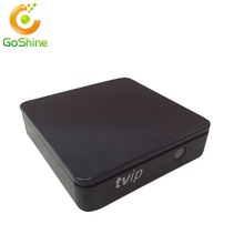 2017 diseño hermoso TVIP S805 1G8G Linux android dual <span class=keywords><strong>OS</strong></span> tvip s caja v.410 fabricados en China Quad core TV