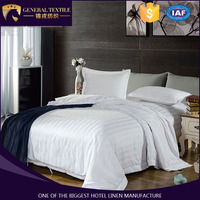 100% Cotton white stripes bedding sets luxury Full/Queen/King Size Bed Quilt/Doona/Duvet Cover bedding Set