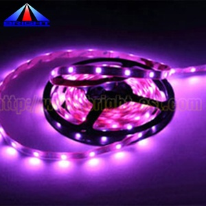 High Quality 5050 2835 Pink Led Strip 5M DC12V Flexible Light Tape The Most Romantic Color With DC Plug