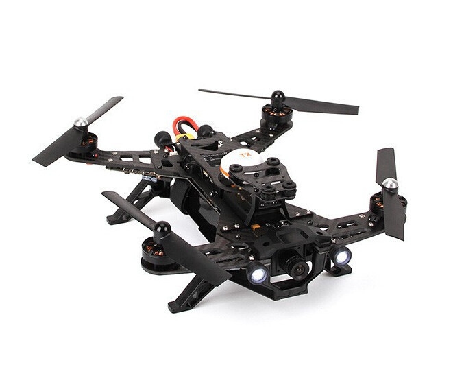 N15611 Walkera Runner 250 RTF FPV Drone Quadcopter with DEVO 7 HD Camera Image Transmission OSD Goggle 2 FPV Version