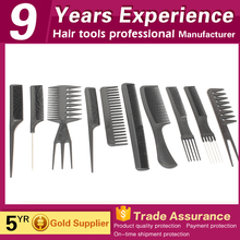 professional salon long tail sectioning pressing combs for black hair