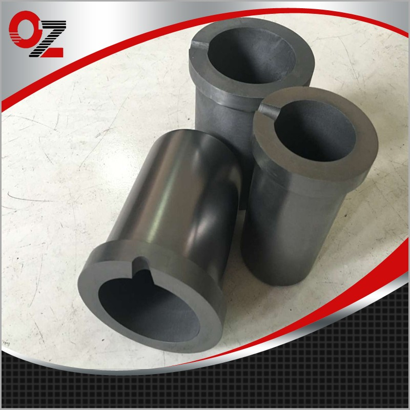 High Purity Graphite Cast Iron Smelting Pot