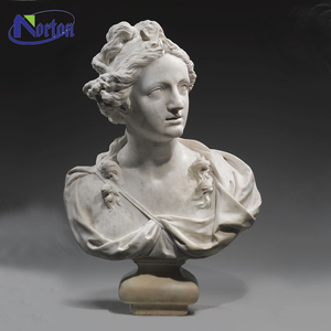 Wholesale hand-craved custom make sculpture carving bust woman NTCS-011