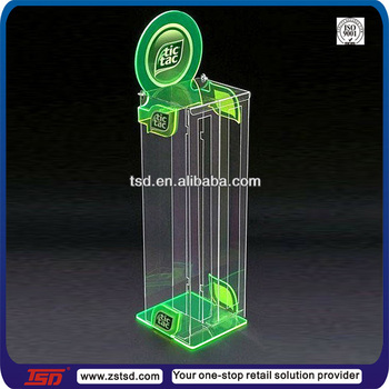 Tsd-a446 Custom Hot Selling Wall Mount Clear Acrylic Candy Display ...
