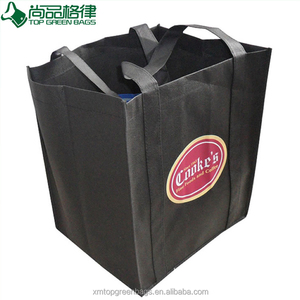 Biodegradable Wholesale Reusable Tote Bag For Retail Grocery Shopping