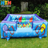 Big blue ocean ball pond inflatable ball pit pool for kids