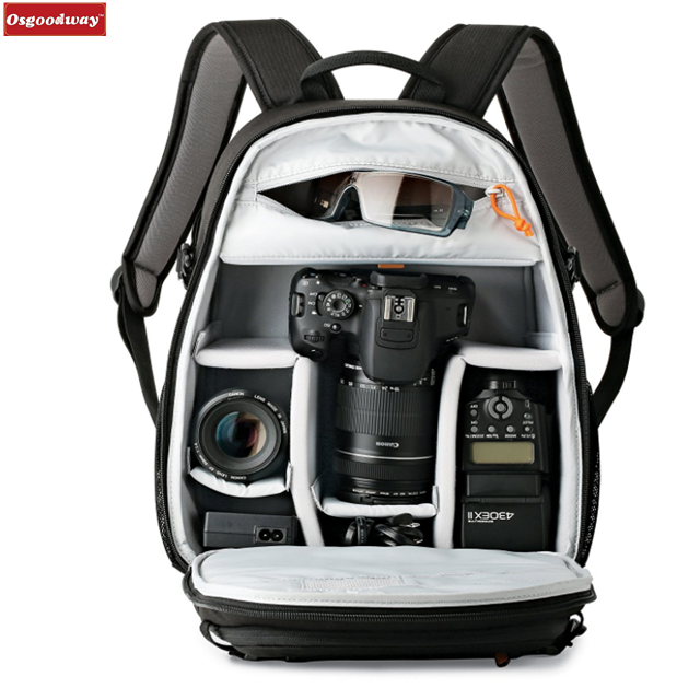 Osgoodway New Large Professional Photography Multi-function Waterproof Video Camera Bag Backpack