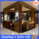 Jewelry display shop show case kiosk for sale