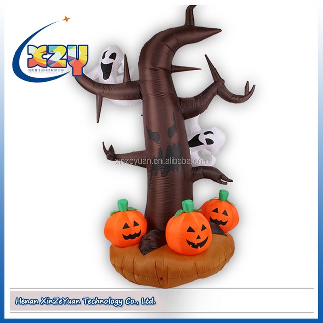 hot sale inflatable yard halloween decorations outdoor halloween inflatable pumkin for supply