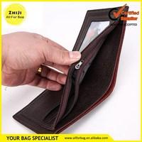 China good supplier discount rainbow neck wallet