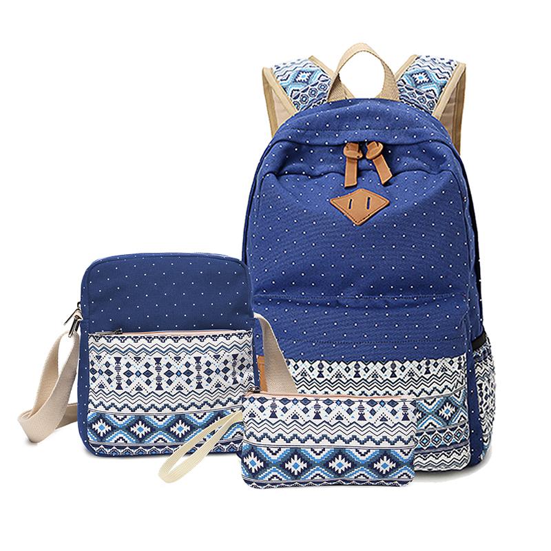 31b4a2fe20e2 Superb Hot Selling High Quality Three set Satchel Backpacks School  Backpacks Teenage Backpack