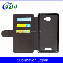 Flip cover leather wallet blank sublimation mobile phone case for Alcatel POP 4S