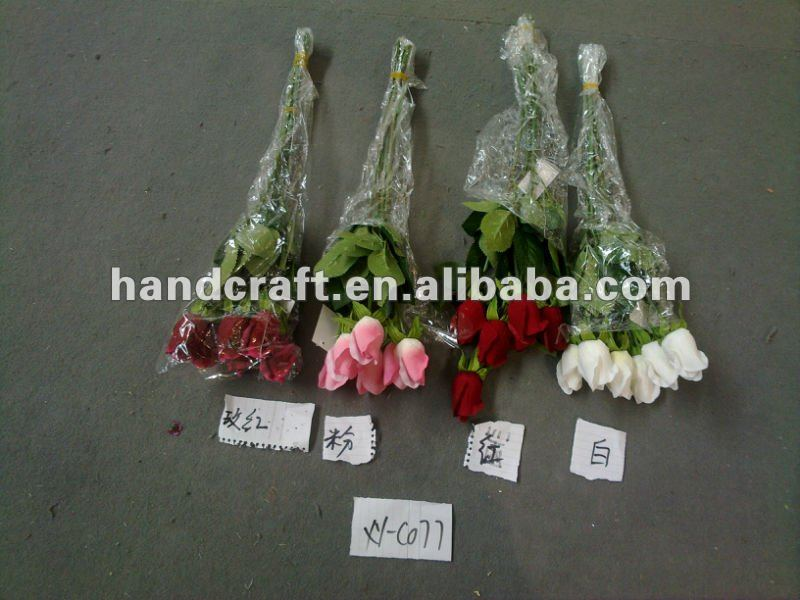 artificial flower single new rose bud for wedding decor the accessories