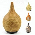 Natural Wooden Grain wooden Electric Ultrasonic Essential Oil Fragrance Aroma Diffuser